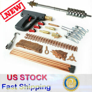 86x Dent Repair Puller Kit Car Tools Hand Body Spot Welder Gun Welding Machine