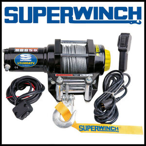 Superwinch LT 4000 ATV 12V Steel Rope Winch