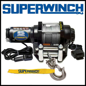 Superwinch LT 3000 ATV 12V Steel Rope Winch