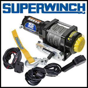 Superwinch LT4000SR ATV 12V Synthetic Rope Winch