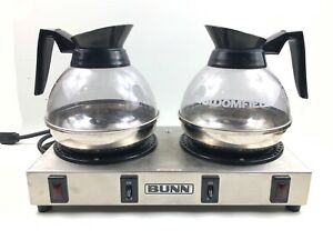 Bunn Wx2 Coffee Pot Warmer With Stainless Steel Bottom Coffee Decanters