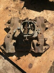 Mopar 383 2 Barrel Intake Manifold 1958 1960 Chrysler Plymouth Dodge 1851899 Oem