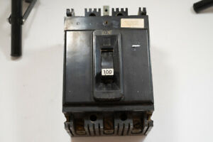 Federal Pacific 100 Amp 480 Volt 3 Pole Type Circuit Breaker