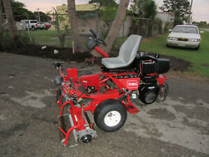 Greensmaster Toro 3100 Greens Tee Reel Mower 2367 Hrs Baskets 04358
