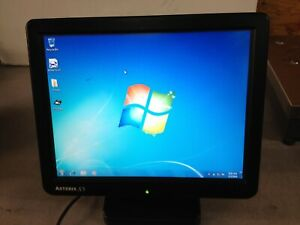 Pioneerpos Asterxtouch x5 Asterix X5 Windows Pos 7 Monitor Has Scratches No Back