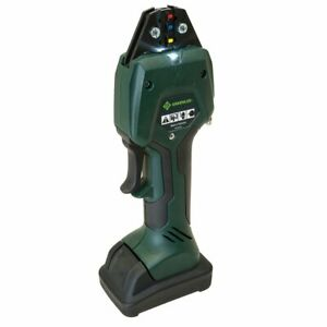 Greenlee Ek50ml12011 10 8 volt Durable Cordless Micro Crimping Kit W 12mm Jaw