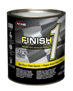 Acrylic High Build Lacquer Gray Primer Surfacer Finish1 Sherwin Williams Fp401