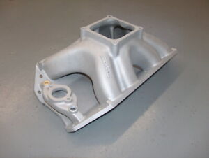 Edelbrock Bb Chevy Tall Deck Big Chief Head 1x4 Dominator Intake Manifold 2801
