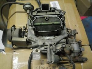 Amc Jeep Original 401motorcraft Carburetor