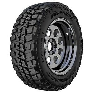 4 New federal Couragia M t Mt 33x12 50r20lt 33 1250 20 33125020 Bsw 10 Ply Tires