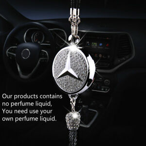 Original Car Diamond Logo Perfume Air Freshener Perfume Pendant For Benz Auto