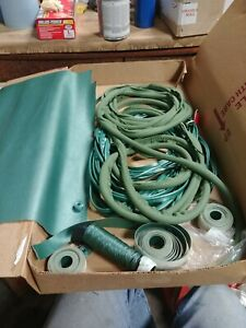 1960 Ford Or Edsel Interior Seat Piping Vinyl Wind Lace Thread Green