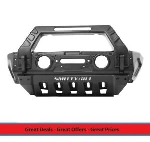 Smittybilt Stryker Front Bumper For 07 To 18 Jeep Wrangler And Gladiator 76730