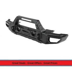 Smittybilt Stryker Front Bumper With Wings For 07 To 18 Wrangler And Gladiator
