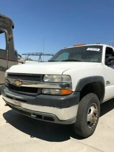 01 02 Chevy Silverado 2500 3500 Diesel Used Front Clip Assy White 6 6 26475