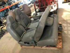 02 Ford F350 Super Duty Crew Cab Front Rear Lariat Leather Power Seats
