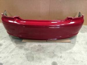 04 05 06 Pontiac Gto 5 7l Man 81k 2 Dr Red Rear Bumper Cover W Reinforcement