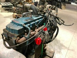 2000 Int l 4700 Used Dt466e Diesel Engine Needs Oil Pan 228k 20983