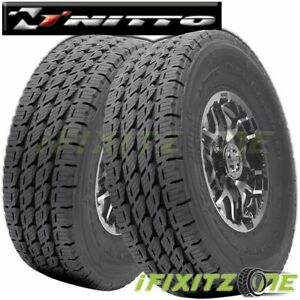 2 Nitto Dura Grappler Lt325 60r18 124r E 10 Commercial Lt Truck Highway Tires