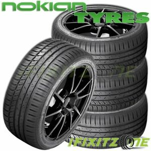 4 Nokian Zline A s 235 45r17 97w Xl All season Traction High Performance Tires