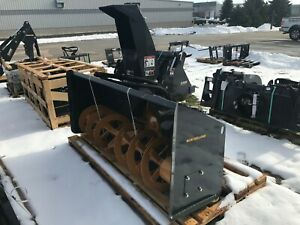 New New Holland Hydraulic Driven 84 Snow Blower With Dual Hydraulic Motors