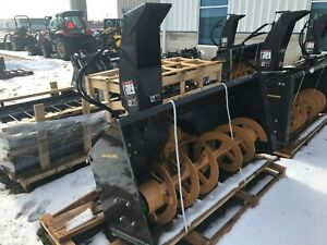 New New Holland 72 Hydraulic Driven Snow Blower With Dual Hydraulic Motors