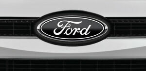 All Ford Models Black White Logo Overlay Decals 3pc Kit Read The Description