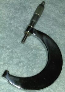 Tubular Micrometer Feather Touch 2 3 Usa
