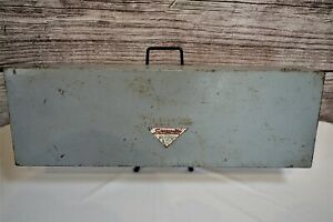 Vintage Snap On Tool Box No Model Numbers Old Set Box From The 1940 S