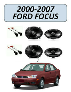 New Fits Ford Focus 2000 2007 Factory Speakers Replacement Kit Pioneer
