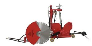 Concrete Cutting Walk Behind Push Adjustable Removable Handsaw 45 Degree 24