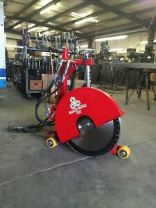 Concrete Cutting Walk Behind Push Adjustable Removable Handsaw 20