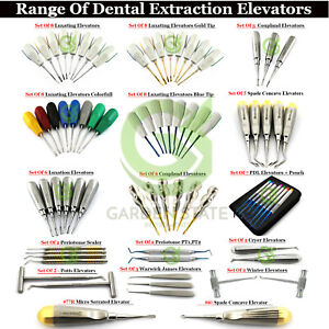 Dental Luxating Elevators Coupland Tooth Root Extraction Pdl Periotome Luxation