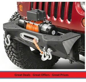 Smittybilt Xrc Mod Front Bumper With Winch Plate For 07 17 Jeep Jk 76825