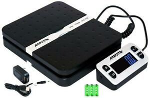 Electronic Refrigerant 110lb Charging Digital Weight Scale Shipping Postal Black