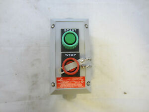 Crouse Hinds N2sc2210 s708 St Sp Start Stop Nema 4x Push Button Control Station