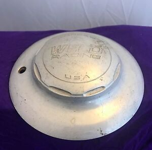 Weld Racing Silver Custom Wheel Center Cap Set Of One 1