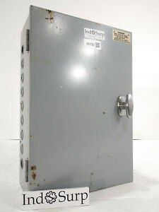 Enclosed Industrial Control Panel With Lightning Contactors