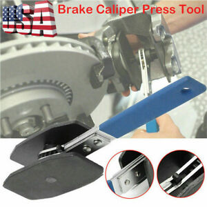 Car Ratchet Brake Piston Wrench Spreader Caliper Install Tool Press Portable Us