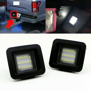 For 2015 2018 Ford F150 High Power Led Smoke License Plate Light Bulb Assembly