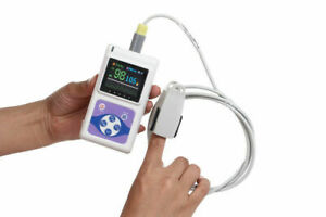 Infant pediatric adult Pulse Oximeter Spo2 Heart Rate Monitor Pc Software Us New