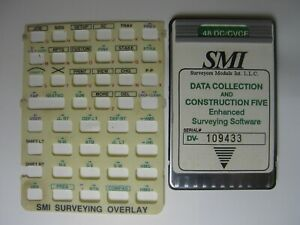 Smi Data Collection And Construction Five Card Overlay For The Hp 48gx