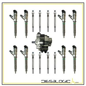 2004 5 2005 Chevy Gmc Duramax 6 6 Lly 30 Over Diesel Injector Super Set Deluxe