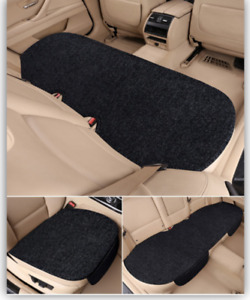 Fabric Car Seat Cover Front Rear Cushion Breathable Protector Mat Pad Non Slip