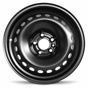 Wheel 2013 2016 Dodge Dart 16 Inch Steel Rim Black 20 Holes 5 Lug 110mm 16x7
