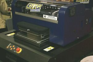 Dtg Hm1 Direct To Garment Printer With Warranty