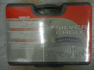 Brand New Silver Eagle Matco Sabse111p 111 Pc Wrench Socket Set Sealed