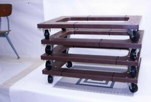 4 Pack Mover Furniture Moving Dolly Swivel Casters About 30 x18
