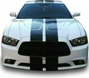 Rally Racing Graphic Stripes Kit For Dodge Charger Srt Lx 2006 2007 2008 2009 Rt