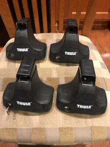 Thule 480 Traverse Foot Pack Set Of 4 Towers With Locks And Key